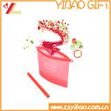 Sacchetti di memoria dell'alimento del silicone. Articolo da cucina del silicone del sacchetto di sigillamento del silicone (XY-FS-163)