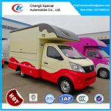 소형 이동할 수 있는 음식 트럭, 아이스크림 트럭, 4개의 짐수레꾼 간이 식품 트럭