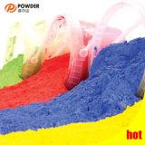 Polvere che ricopre il poliestere del campione libero elettrostatico