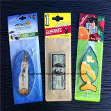 Refrogerador de ar do papel do presente da promoção, acessório do carro, perfume do carro (JP-AR038)