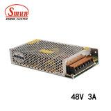 Convertitore di elettricità statica dell'alimentazione elettrica di Smun S-145-48 145W 48VDC 3A