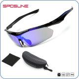 Nuevo ciclo polarizado UV400 caliente de la protección de ojo de vidrios del deporte de la manera de la venta conduciendo las gafas de sol corrientes