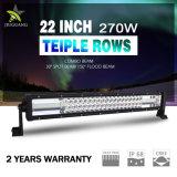 270W Staaf van de Vloed van de hoge Macht 22inch 12V de Lichte Lichte voor Jeep