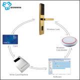 Bloqueo y manetas electrónicos de puerta del hotel del control de ordenador del establecimiento de una red
