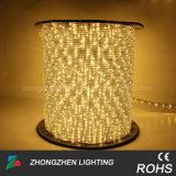 LED 코드 밧줄 빛 220V RGB LED 밧줄을 쫓는 유연한 4개의 철사