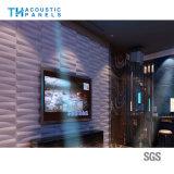 Ecoのレストランまたはホテルのための友好的なポリエステル線維の内部の装飾的な3D音響のボード