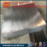 Acier du carbone de fournisseur de la Chine SA516gr. 60 plaque plaquée de récipient à pression de tôle de chaudière en métal de l'acier inoxydable 304 avec le soudage par explosion