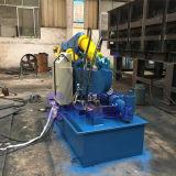 Máquina de estaca da barra de metal do jacaré da sucata (integrada)
