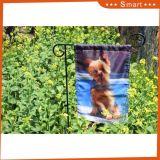 Vlag van de Tuin van de Druk van het Beeld van de Hond van het Beeld van de Douane van de tuin de Decoratieve Vliegende