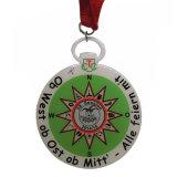 심혼 모양 결혼식 기념품 에폭시를 가진 선물에 의하여 인쇄되는 금속 메달