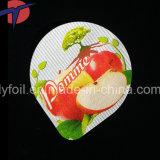 Gedruckte Aluminiumfolie-Kappen für Joghurt-Plastikcup-Dichtung
