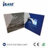 広告するか、または挨拶のためのビデオパンフレットビデオカード5のインチLCDスクリーン