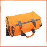 O saco de Tote Foldable personalizado do curso grande da capacidade carreg a bolsa da bagagem do armazenamento
