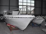 Barco del Panga de la fibra de vidrio 500 de los barcos del bote de Liya costa afuera para la pesca