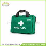 折る旅行医学の屋外の緊急時の救急箱