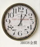 Klok van de Muur van het Horloge van het Metaal van het Decor van het Huis van de Klokken van China de Uitstekende