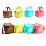 Sac plus frais isolé par polyester, sac de transporteur, sac de nourriture