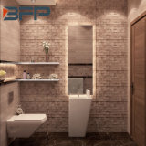 Golpeteo de mármol blanco del mosaico de Carrara en el jet Water- para el azulejo de suelo de la pared