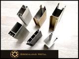 Pista de Cortina de Aluminio Perfil de Persianas de Ventana con Madera Color