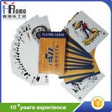 Jouer au Poker Cartes de papier personnalisé pour la promotion cadeau