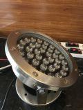 Luz subacuática decorativa al aire libre de la iluminación IP68 LED