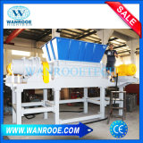 Los residuos de eje doble máquina trituradora de metal reciclado de neumáticos