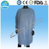 Pun¢os elásticos médicos/vestido caliente hecho punto del aislamiento de la venta del pun¢o/vestido quirúrgico barato