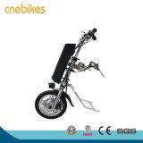 36V 250W Bevestigbare Elektrische Rolstoel Handcycle met de Batterij van het Lithium 10.4ah