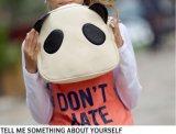 パンダパターンショルダー・バッグのランドセルの子供袋のハンドバッグのCrossbodyのメッセンジャー袋