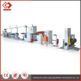 Linha de produtos automática portátil da extrusora da máquina do cabo