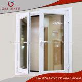 Tissu pour rideaux glacé par double en aluminium Windows de profil