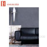 Черный Италии реальной материал из наппы вид в разрезе диван в гостиной