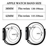 Correa de reloj de nylon de la alta calidad para la venda 38 y 42m m de Apple Iwatch