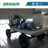 45m3/min a 10 bares de presión del compresor de aire portátil Diesel