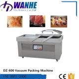 Doppio imballatore di vuoto della frutta della carne dell'alloggiamento Dz-600 per l'imballaggio di alimento