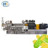 Fécule de maïs en plastique biodégradable Granuels faisant la machine de granulatoire