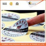 Het Document van uitstekende kwaliteit Die-Cut Sticker van het Etiket van het Festival de Afgedrukte Zelfklevende Druk