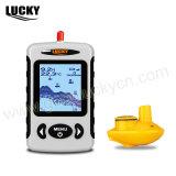 Cercatore portatile senza fili dei pesci del sonar della matrice a punti (FFW718)