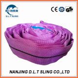 Imbracatura rotonda molle resistente per le merci di sollevamento