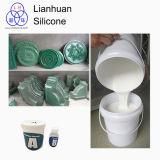 Borracha de silicone para a fatura do molde de produtos concretos