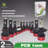 Super brillante Lámparas de luces de coche V6 H11 H7 H4 35W 12V LED Bombilla del faro coches de automoción