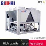 refrigeratore raffreddato aria 180usrt usato per la linea di produzione di vetro con il compressore della vite