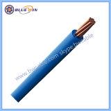 Le fil électrique de 6 mm de Cu/PVC 450/750V simple coeur de la norme CEI60227