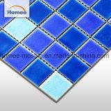 Mosaico de cerámica del azul de cielo del océano del crujido para las piscinas