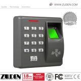 Controle de acesso com impressão digital biométrica carda de RFID