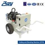 """24 """" - 30 """"를 위한 Od 거치된 휴대용 유압 균열 프레임 또는 관 절단 그리고 경사지는 기계 (609.6mm-762mm)"""