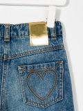 Calças de brim da sarja de Nimes do menino da forma com o bolso cinco