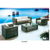 方法緩和された鋼鉄屋外の庭の家具