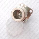 Connecteur femelle de support de carte de panneau de soudure de la bride PTFE du connecteur N Jack 4-Hole 17.5mm de rf