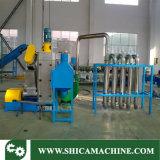 Flaschenkapsel des Haustier-500-600kg/H und Kennsatz-Abisoliermaschine für überschüssiges Plast